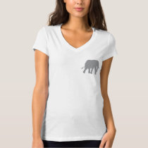 Womens Circle Save the Elephants T-Shirt