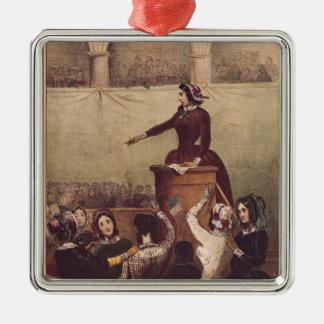 Women's Club, c.1848 Christmas Tree Ornament