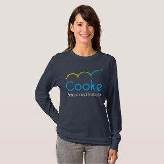 WOMEN'S Cooke Long-Sleeve Shirt, Navy T-Shirt