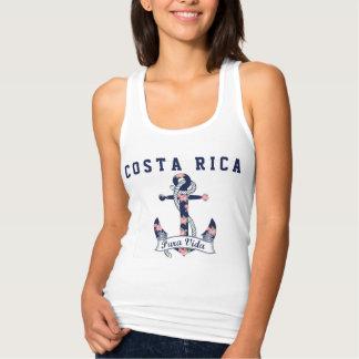 Women's Costa Rica Floral Anchor Pura Vida Tank