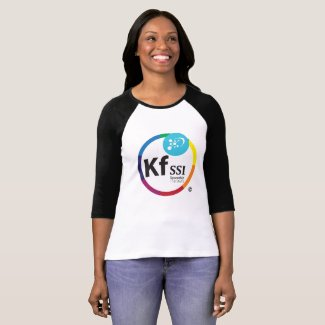 Womens Cotton T-Shirt with KFSSI Logo