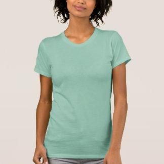 Women's Crew T-Shirt Top Blouse Light Jade Green