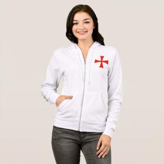 women's crusader zip up hoodie