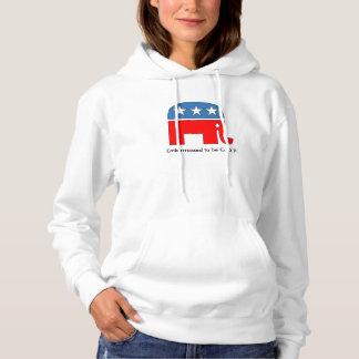 Women's Crying Elephant Hoodie