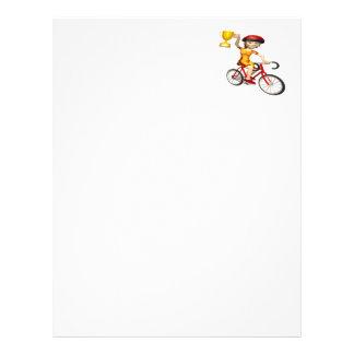 Womens Cycling Trophy Letterhead