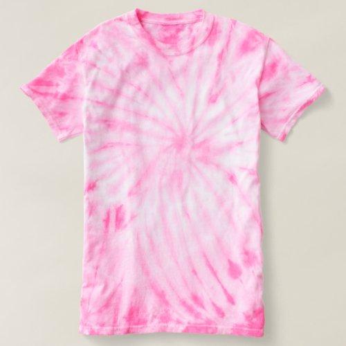 Womens Cyclone Tie_Dye T_Shirt pink