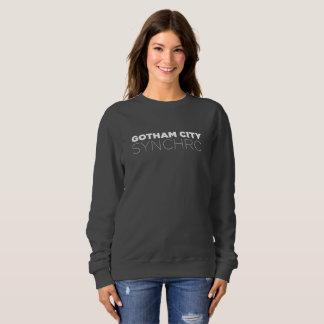 Women's Dark Crew Neck Sweatshirt