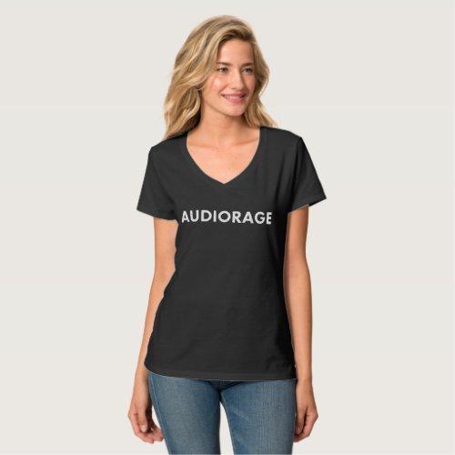 Womens dark Hanes T_shirt
