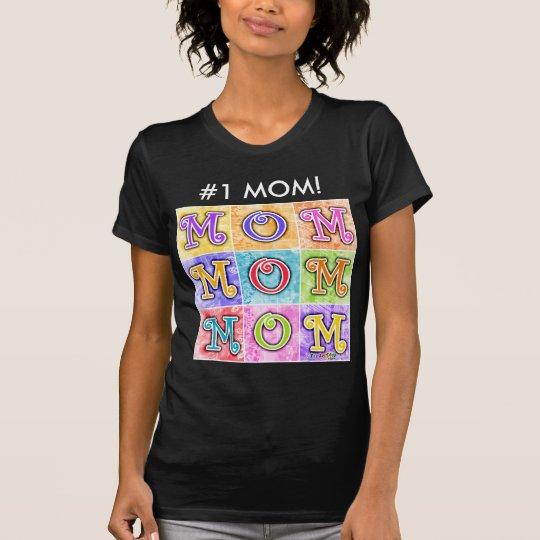 Women's Dark Tees - MOM Pop Art