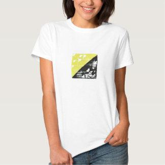 Women's Day/Night Block Print Tee Shirt