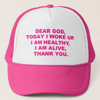 Womens Dear God Hat