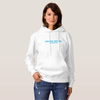 Women's DIGITAL NATIVE hooded sweatshirt