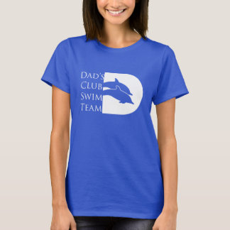 Women's Dolphin T-shirt, Royal T-Shirt