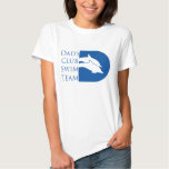 Women's Dolphin T-shirt, White T-Shirt