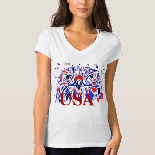 Women 39 s eagle pride t shirt zazzle for Eagles t shirt womens