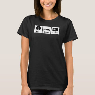 Women's Eat, Sleep, Code T-shirt