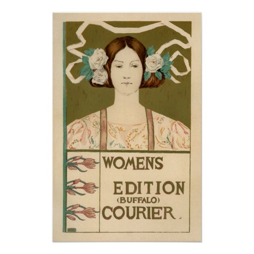 Women's Edition of the Buffalo Courier Poster