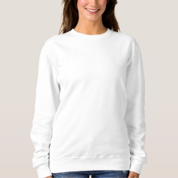 Beach Themed Women's Embroidered Sweatshirt