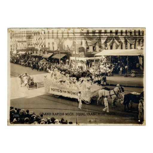Women's Equal Rights Suffrage Parade Print