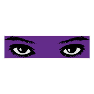 womens eyes poster