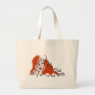 Women's Face Design Tote Bag