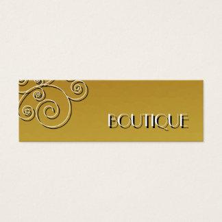 women's fashion boutique mini business card