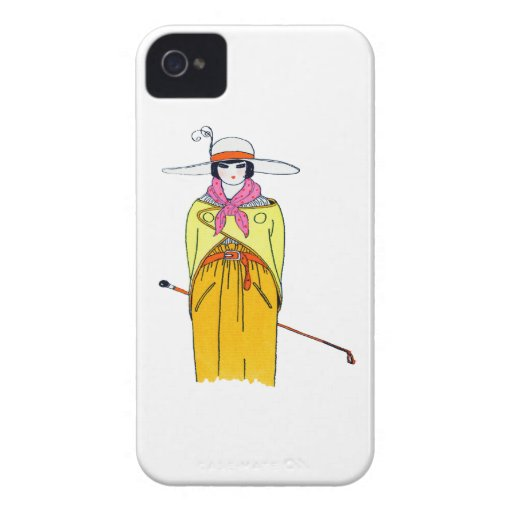 Women's Fashion Illustration iPhone 4 Covers