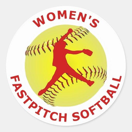 Women's Fastpitch Softball Stickers