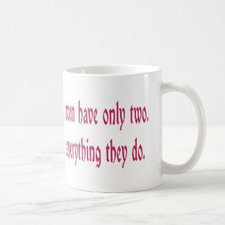 Women's Faults Are Many Coffee Mug