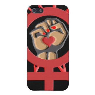 Womens Feminist Symbol Case For iPhone SE/5/5s