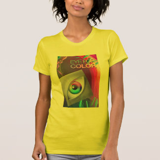 Women's Fine Jersey Eye For Color t-shirts