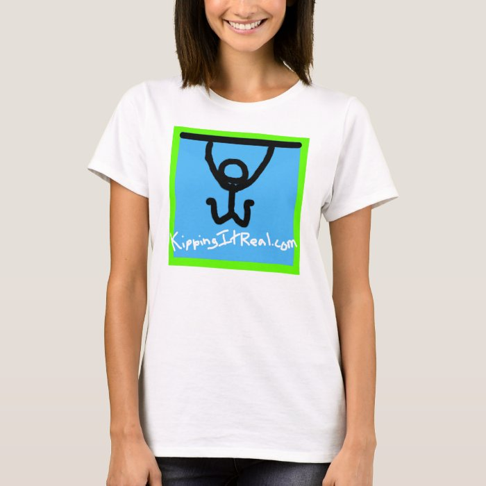 Women's Fitted KippingItReal.com T-Shirt