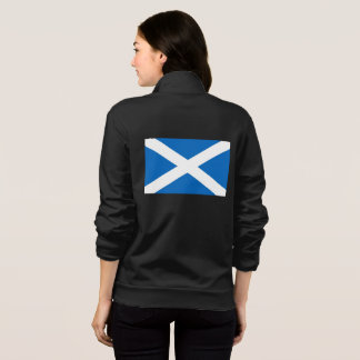 Women's  Fleece Jogger with flag of Scotland Jacket