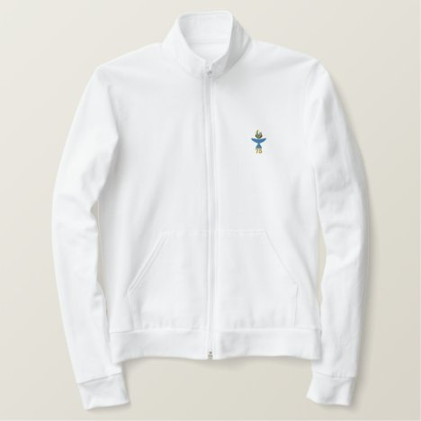 Women's Fleece Shirt with Logo and Name