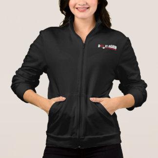 Women's Fleece Zip Jogger Jacket