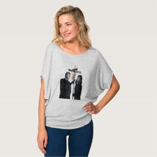 Women's Flowy Bogie & Bacall T-Shirt