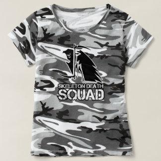 Womens FMSDS Grey Camo T T-shirt