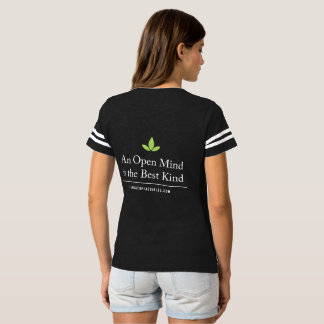 Women's Football Cannatopia Open Mind Back Tee