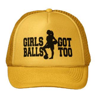 Women's football women soccer Girl teams Trucker Hat