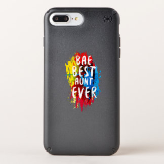 Womens Funny BAE  Best Auntie Ever Mom Mothers Speck iPhone Case