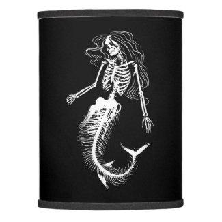 Womens Funny Halloween Mermaid Skeleton Gift Cool Lamp Shade