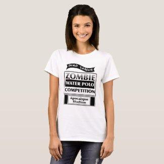 Women's  Funny Zombie Tshirt