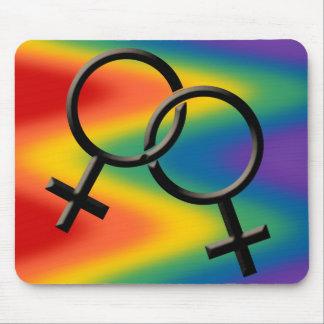 Women's Gay Pride Mousepad Gay Pride Mousepad