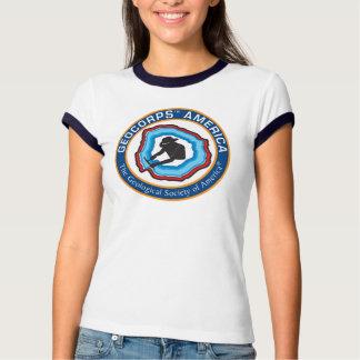 Women's GeoCorps America Ringer T-Shirt