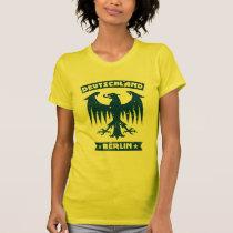 Womens German Eagle Deutschland Berlin T-Shirt