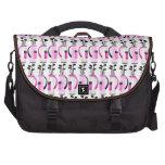 Women's Golf Bags - Pink Laptop Messenger Bag