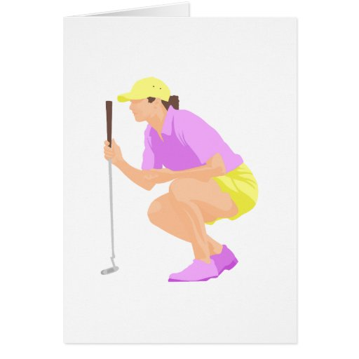 Womens Golf Card