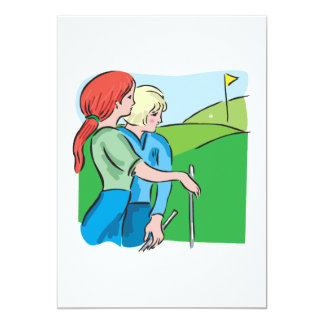 Womens Golf Card