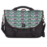 Women's Golf Carts Pink and White Bag For Laptop