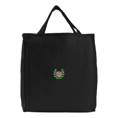 Women's Golf Crest Embroidered Tote Bag